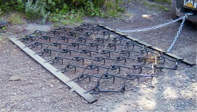 OXDALE TRAILED CHAIN HARROWS 6FT