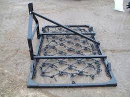 OXDALE MOUNTED CHAIN HARROW 4FT