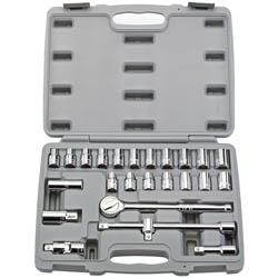 25PC 1/2DR SOCKET SET