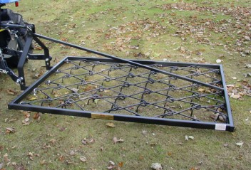 "mounted-chain-harrows-on-three-point-linkage-48""w-x-70""l"