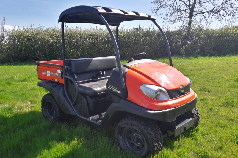 Kubota RTV500 Utility Vehicle - Petrol