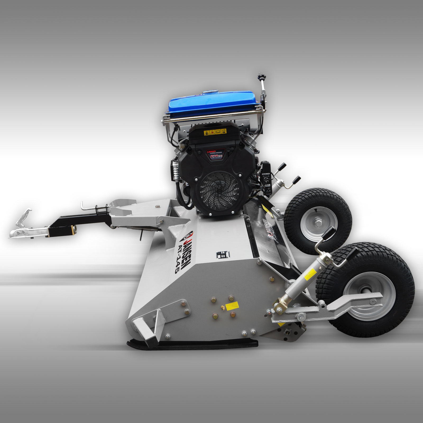 JANSEN AT-145 ATV flail mower with 22 HP petrol engine - STUBBINGS