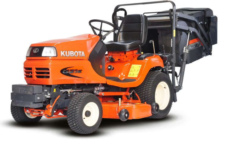 KUBOTA G21 DIESEL RIDE ON MOWER - LOW DUMP