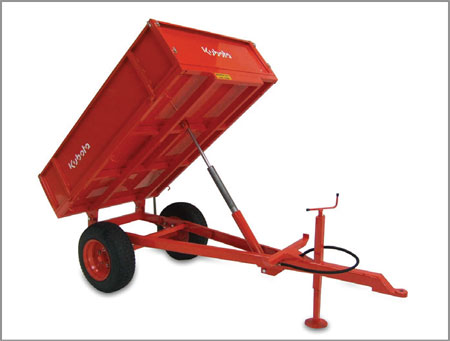 Kubota TT2 Tipping Trailer 2T