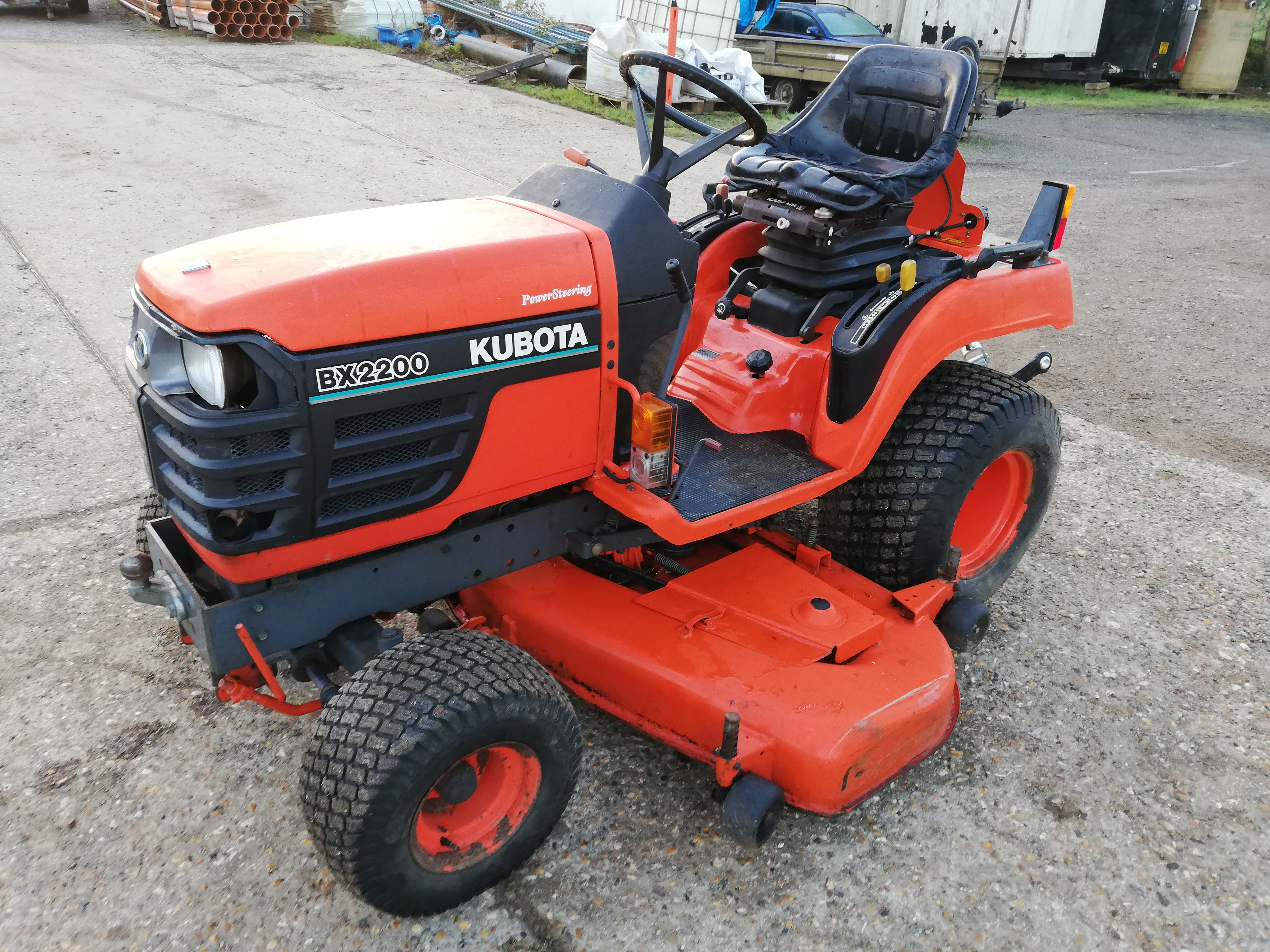 "kubota-bx2200-22hp-compact-tractor-with-60""-mid-mount-mowing-deck"